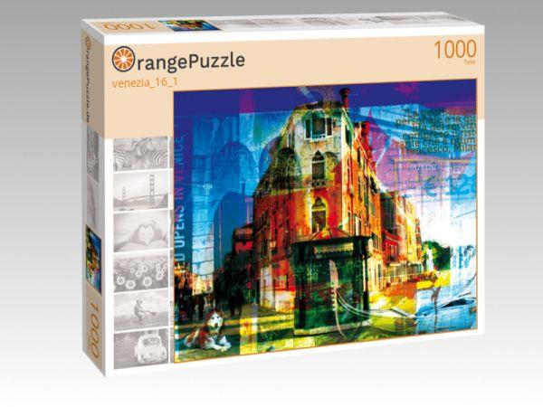 """Puzzle Motiv """"venezia_16_1"""" - Puzzle-Schachtel zu 1000 Teile Puzzle"""