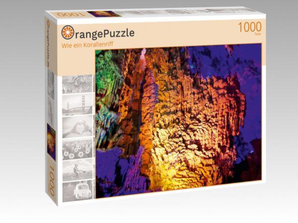 """Puzzle Motiv """"Wie ein Korallenriff"""" - Puzzle-Schachtel zu 1000 Teile Puzzle"""