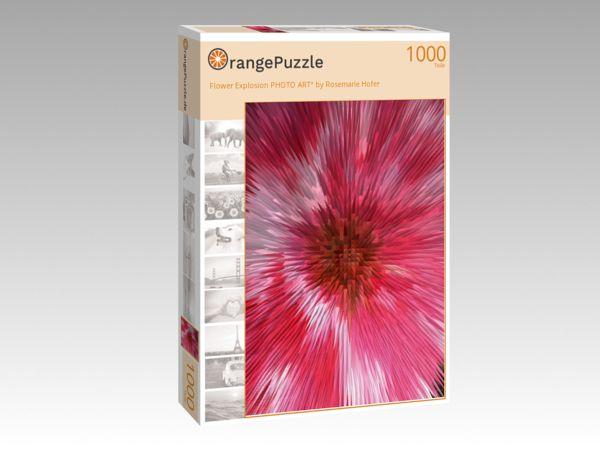 """Puzzle Motiv """"Flower Explosion PHOTO ART° by Rosemarie Hofer"""" - Puzzle-Schachtel zu 1000 Teile Puzzle"""