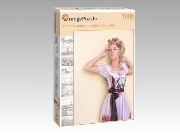 """Puzzle Motiv """"Kärntner Dirndln - modern interpretiert"""" - Puzzle-Schachtel zu 1000 Teile Puzzle"""