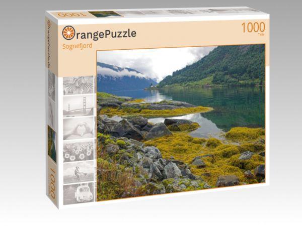 """Puzzle Motiv """"Sognefjord"""" - Puzzle-Schachtel zu 1000 Teile Puzzle"""