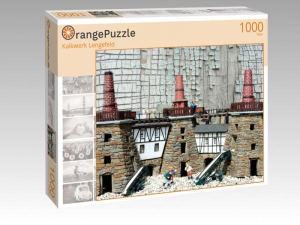 """Puzzle Motiv """"Kalkwerk Lengefeld"""" - Puzzle-Schachtel zu 1000 Teile Puzzle"""