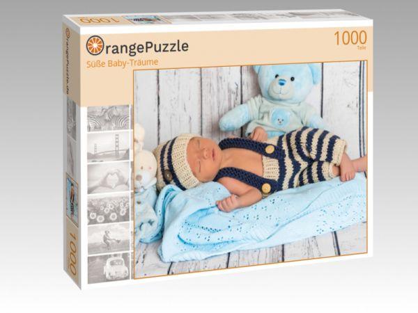 """Puzzle Motiv """"Süße Baby-Träume"""" - Puzzle-Schachtel zu 1000 Teile Puzzle"""