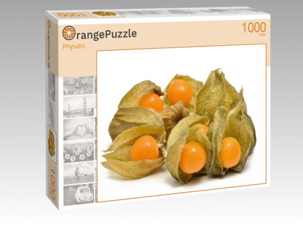 """Puzzle Motiv """"Physalis"""" - Puzzle-Schachtel zu 1000 Teile Puzzle"""