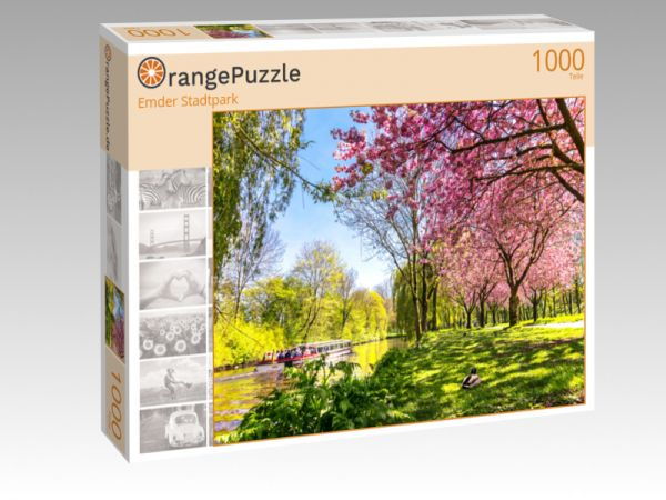"Puzzle Motiv ""Emder Stadtpark"" - Puzzle-Schachtel zu 1000 Teile Puzzle"