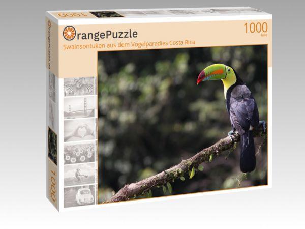 """Puzzle Motiv """"Swainsontukan aus dem Vogelparadies Costa Rica"""" - Puzzle-Schachtel zu 1000 Teile Puzzle"""