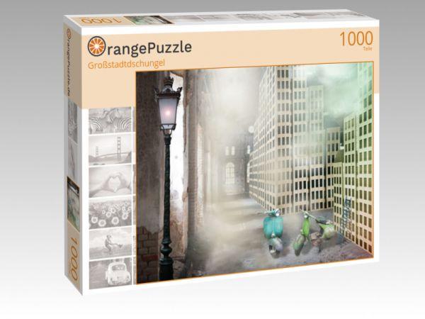 """Puzzle Motiv """"Großstadtdschungel"""" - Puzzle-Schachtel zu 1000 Teile Puzzle"""