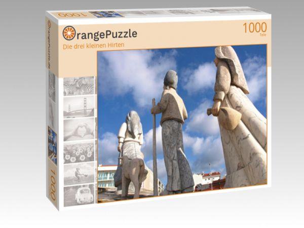 """Puzzle Motiv """"Die drei kleinen Hirten"""" - Puzzle-Schachtel zu 1000 Teile Puzzle"""