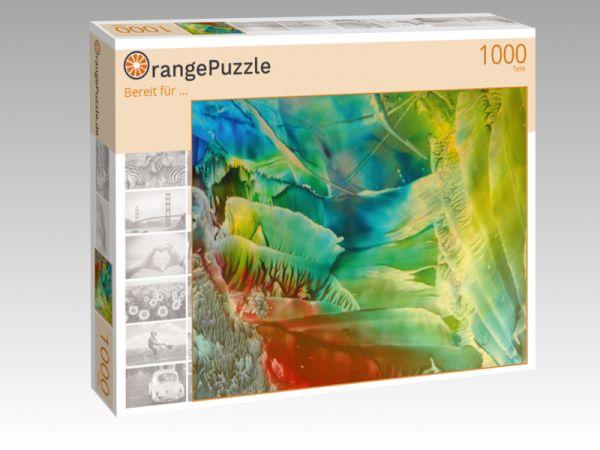 """Puzzle Motiv """"Bereit für ..."""" - Puzzle-Schachtel zu 1000 Teile Puzzle"""