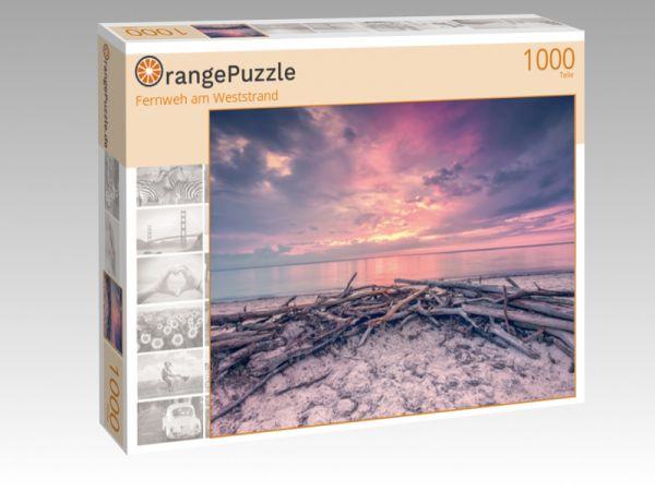 "Puzzle Motiv ""Fernweh am Weststrand"" - Puzzle-Schachtel zu 1000 Teile Puzzle"