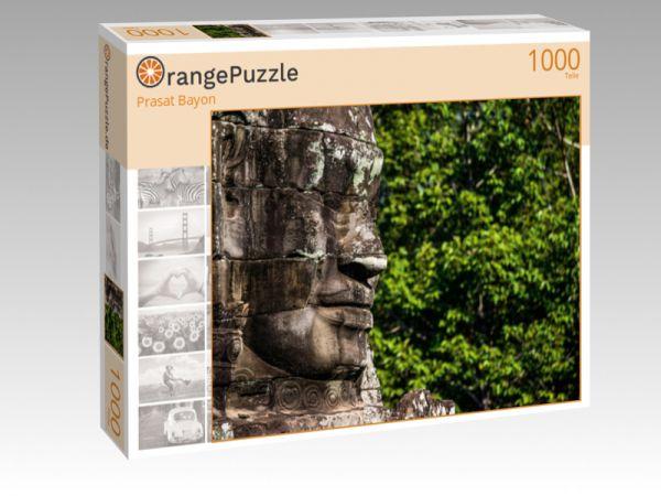 """Puzzle Motiv """"Prasat Bayon"""" - Puzzle-Schachtel zu 1000 Teile Puzzle"""