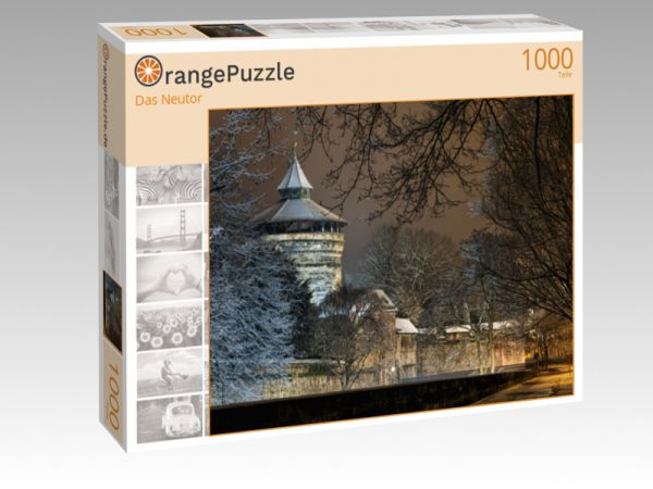 "Puzzle Motiv ""Das Neutor"" - Puzzle-Schachtel zu 1000 Teile Puzzle"