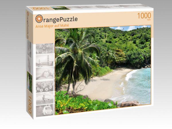 """Puzzle Motiv """"Anse Major auf Mahé"""" - Puzzle-Schachtel zu 1000 Teile Puzzle"""