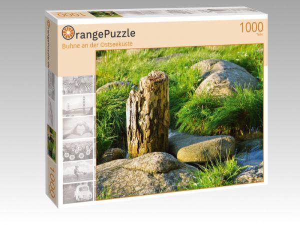 """Puzzle Motiv """"Buhne an der Ostseeküste"""" - Puzzle-Schachtel zu 1000 Teile Puzzle"""