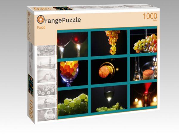 """Puzzle Motiv """"Food"""" - Puzzle-Schachtel zu 1000 Teile Puzzle"""