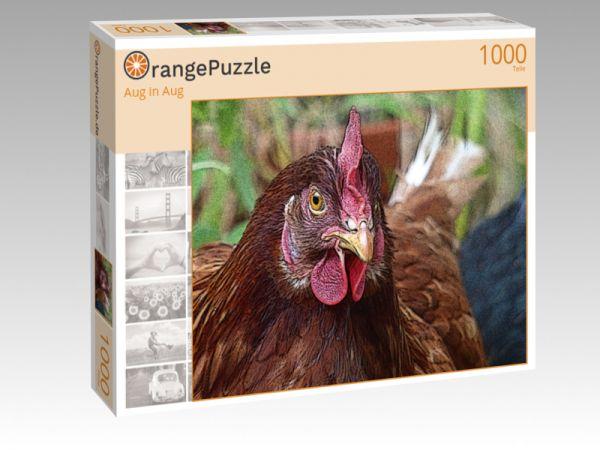 """Puzzle Motiv """"Aug in Aug"""" - Puzzle-Schachtel zu 1000 Teile Puzzle"""