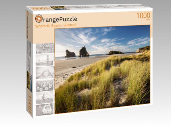 "Puzzle Motiv ""Wharariki Beach - Südinsel"" - Puzzle-Schachtel zu 1000 Teile Puzzle"