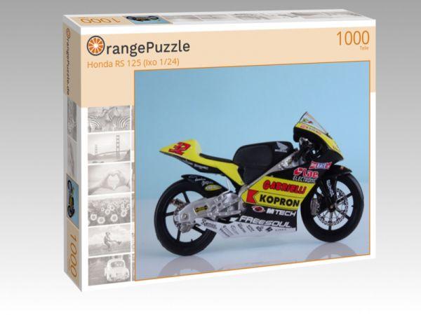 """Puzzle Motiv """"Honda RS 125 (Ixo 1/24)"""" - Puzzle-Schachtel zu 1000 Teile Puzzle"""
