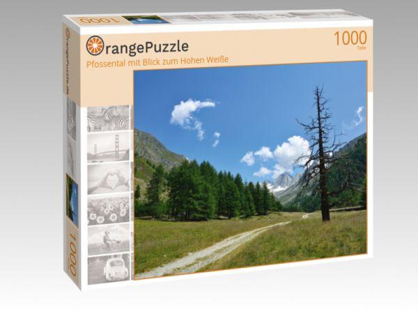 """Puzzle Motiv """"Pfossental mit Blick zum Hohen Weiße"""" - Puzzle-Schachtel zu 1000 Teile Puzzle"""