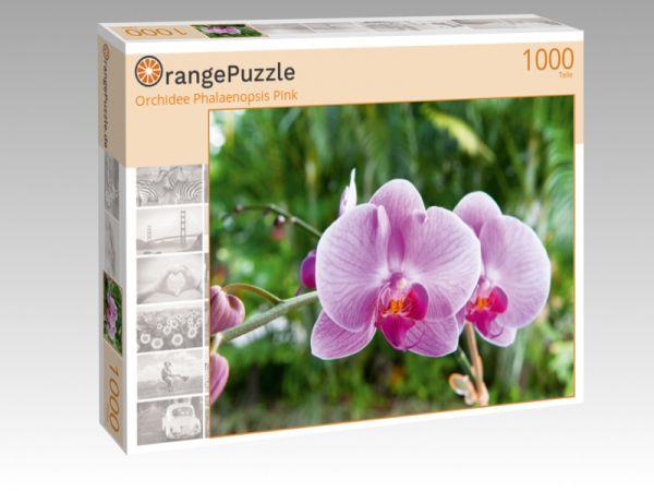 "Puzzle Motiv ""Orchidee Phalaenopsis Pink"" - Puzzle-Schachtel zu 1000 Teile Puzzle"