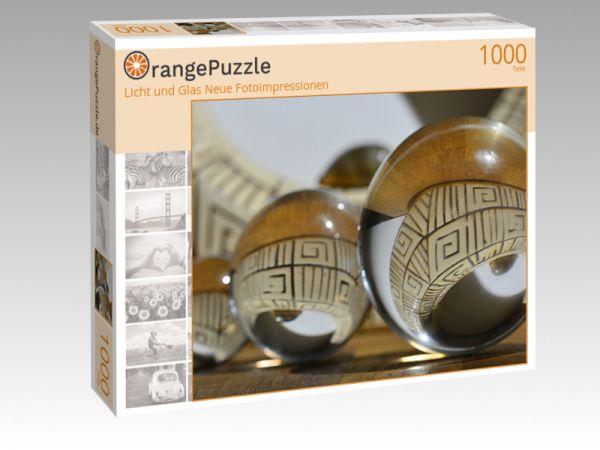 """Puzzle Motiv """"Licht und Glas Neue Fotoimpressionen"""" - Puzzle-Schachtel zu 1000 Teile Puzzle"""