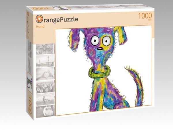 """Puzzle Motiv """"Hund"""" - Puzzle-Schachtel zu 1000 Teile Puzzle"""