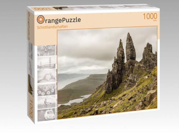 """Puzzle Motiv """"Schottlandschaften"""" - Puzzle-Schachtel zu 1000 Teile Puzzle"""