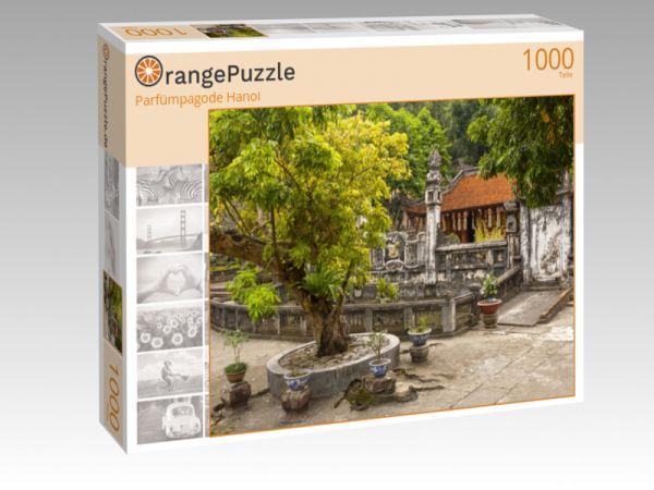 """Puzzle Motiv """"Parfümpagode Hanoi"""" - Puzzle-Schachtel zu 1000 Teile Puzzle"""