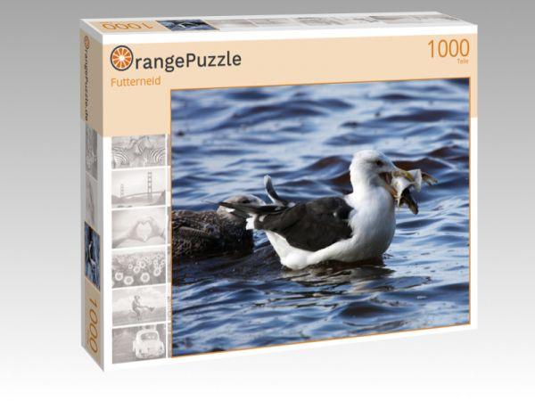 """Puzzle Motiv """"Futterneid"""" - Puzzle-Schachtel zu 1000 Teile Puzzle"""