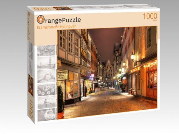 "Puzzle Motiv ""Kramerstraße Hannover"" - Puzzle-Schachtel zu 1000 Teile Puzzle"