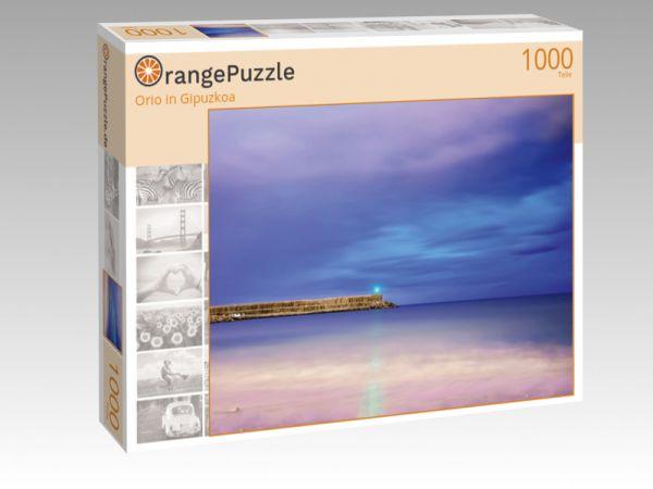 "Puzzle Motiv ""Orio in Gipuzkoa"" - Puzzle-Schachtel zu 1000 Teile Puzzle"