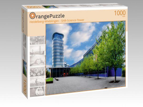 """Puzzle Motiv """"Heidelberg-Wieblingen - SHR-Science-Tower"""" - Puzzle-Schachtel zu 1000 Teile Puzzle"""