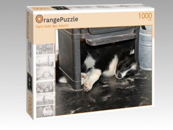 "Puzzle Motiv ""Yaris liebt den Kamin"" - Puzzle-Schachtel zu 1000 Teile Puzzle"