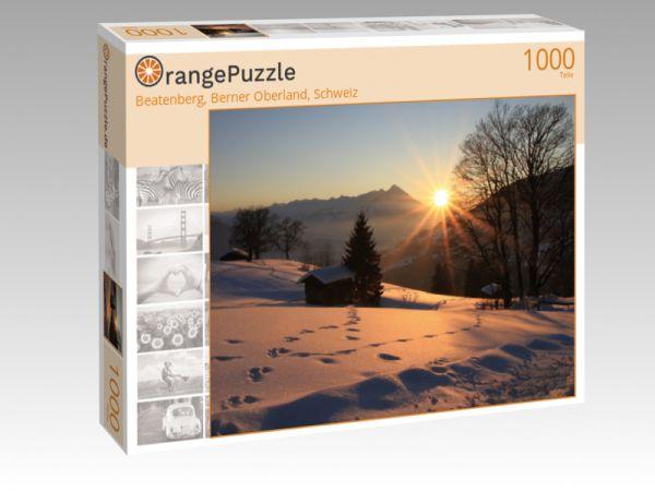"""Puzzle Motiv """"Beatenberg, Berner Oberland, Schweiz"""" - Puzzle-Schachtel zu 1000 Teile Puzzle"""