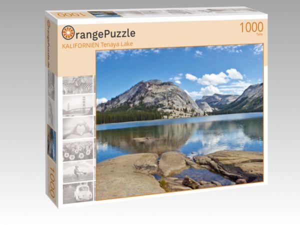 """Puzzle Motiv """"KALIFORNIEN Tenaya Lake"""" - Puzzle-Schachtel zu 1000 Teile Puzzle"""