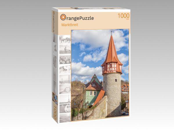 "Puzzle Motiv ""Marktbreit"" - Puzzle-Schachtel zu 1000 Teile Puzzle"