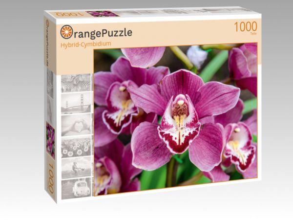 "Puzzle Motiv ""Hybrid-Cymbidium"" - Puzzle-Schachtel zu 1000 Teile Puzzle"