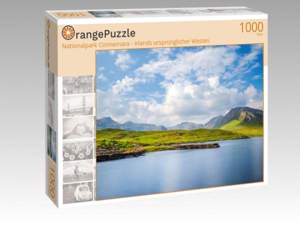 """Puzzle Motiv """"Nationalpark Connemara - Irlands ursprünglicher Westen"""" - Puzzle-Schachtel zu 1000 Teile Puzzle"""