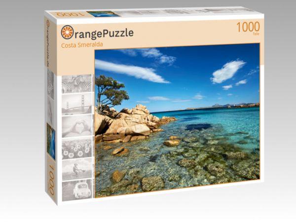 "Puzzle Motiv ""Costa Smeralda"" - Puzzle-Schachtel zu 1000 Teile Puzzle"