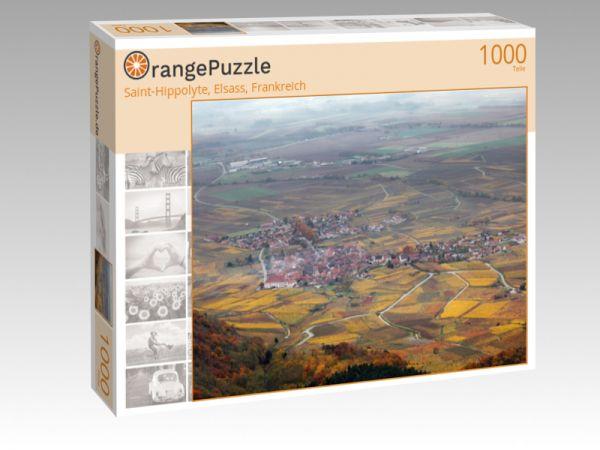 """Puzzle Motiv """"Saint-Hippolyte, Elsass, Frankreich"""" - Puzzle-Schachtel zu 1000 Teile Puzzle"""