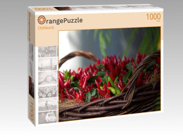 """Puzzle Motiv """"Chillikorb"""" - Puzzle-Schachtel zu 1000 Teile Puzzle"""