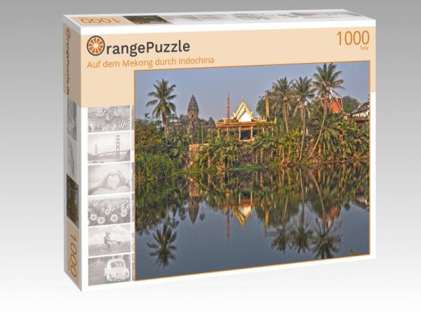 """Puzzle Motiv """"Auf dem Mekong durch Indochina"""" - Puzzle-Schachtel zu 1000 Teile Puzzle"""