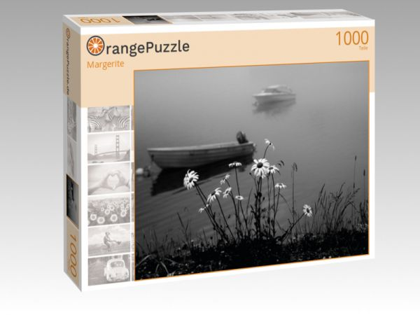 """Puzzle Motiv """"Margerite"""" - Puzzle-Schachtel zu 1000 Teile Puzzle"""