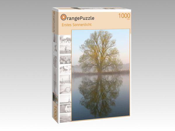 "Puzzle Motiv ""Erstes Sonnenlicht"" - Puzzle-Schachtel zu 1000 Teile Puzzle"