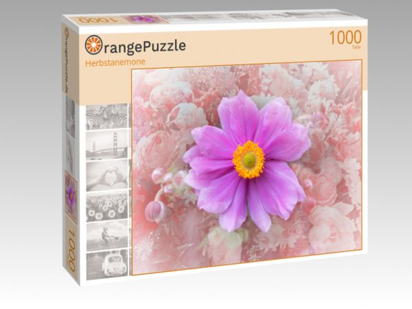 """Puzzle Motiv """"Herbstanemone"""" - Puzzle-Schachtel zu 1000 Teile Puzzle"""