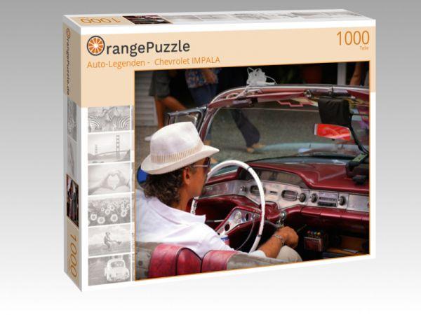 """Puzzle Motiv """"""""Auto-Legenden -  Chevrolet IMPALA"""""""" - Puzzle-Schachtel zu 1000 Teile Puzzle"""