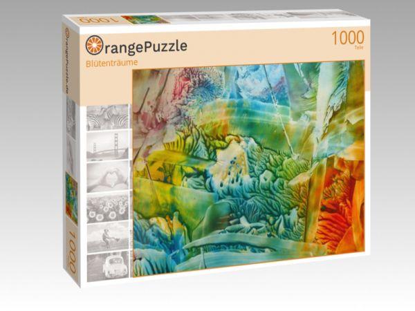 """Puzzle Motiv """"Blütenträume"""" - Puzzle-Schachtel zu 1000 Teile Puzzle"""