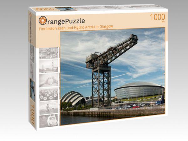 """Puzzle Motiv """"Finnieston Kran und Hydro Arena in Glasgow"""" - Puzzle-Schachtel zu 1000 Teile Puzzle"""