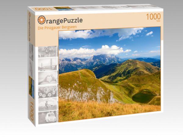 """Puzzle Motiv """"Die Pinzgauer Bergseen"""" - Puzzle-Schachtel zu 1000 Teile Puzzle"""