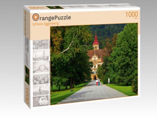 """Puzzle Motiv """"Schloss Eggenberg"""" - Puzzle-Schachtel zu 1000 Teile Puzzle"""
